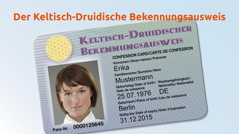 Keltisch-Druidischer Ausweis Features 1
